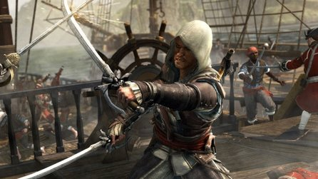 Assassin's Creed 4: Black Flag - Gameplay-Trailer zeigt Fort-Belagerung & Übernahme