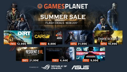 Gamesplanet Summer Sale 2017 - Project Cars mit Bonus-Rabatt für Project Cars 2