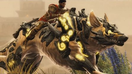 Guild Wars 2: Path of Fire - Launch-Trailer zeigt Bösewicht und Reittiere