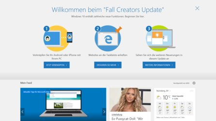 Windows 10 Fall Creators Update - Download und Neuerungen