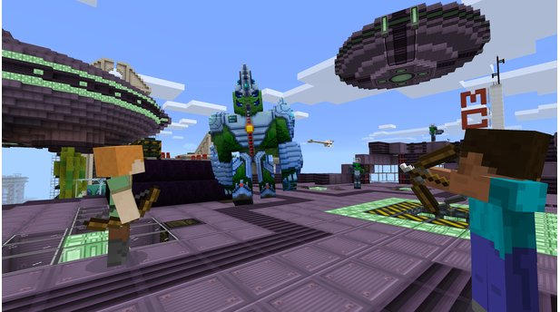 Minecraft Windows 10 Edition - Screenshots zum Oktober-Update mit Boss-Kämpfen und Add-Ons