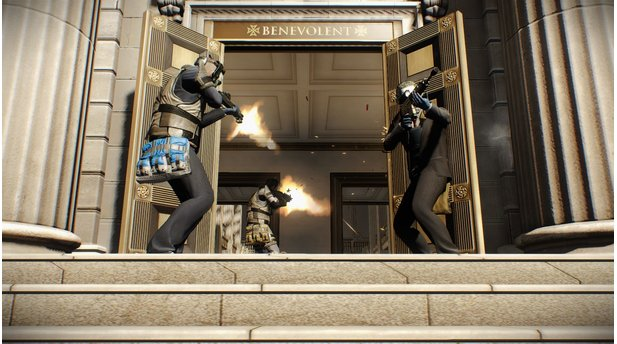 PayDay 2 Big Bank DLC - Screenshots