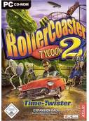 Cover zu RollerCoaster Tycoon 2: Time Twister