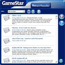 GameStar-RSS-Reader