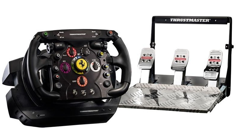 thrustmaster ferrari f1 wheel integral t500 formel 1. Black Bedroom Furniture Sets. Home Design Ideas