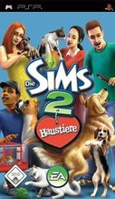 Cover zu Die Sims 2: Haustiere - PSP