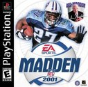 Cover zu Madden NFL 2001 - PlayStation