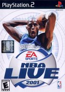 Cover zu NBA Live 2001 - PlayStation 2