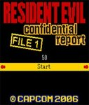 Cover zu Resident Evil Confidential Report File 1 - Handy