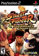 Cover zu Street Fighter: Anniversary Collection - PlayStation 2