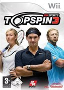 Cover zu Top Spin 3 - Wii