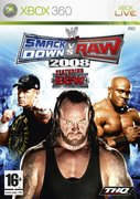Cover zu WWE SmackDown vs. Raw 2008 - Xbox 360