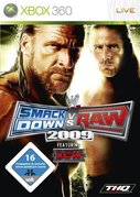 Cover zu WWE Smackdown vs. RAW 2009 - Xbox 360