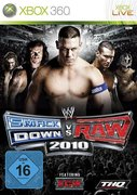 Cover zu WWE Smackdown vs. RAW 2010 - Xbox 360