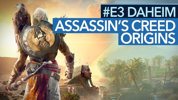 Assassin's Creed: Origins - Angespielt-Video: Assassine trifft Witcher und Dark Souls. Wie geht das?