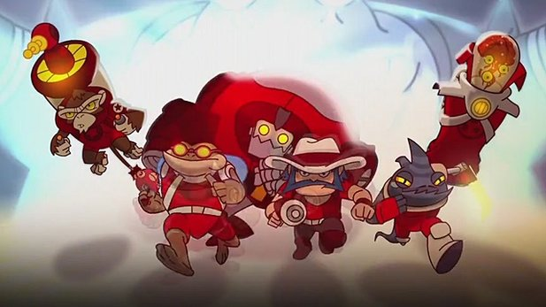 »How to play«-Video von Awesomenauts