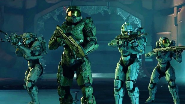 Halo 5: Guardians - Intro zum Blue Team des Master Chiefs
