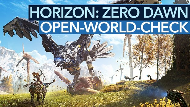 Horizon: Zero Dawn - Grind oder Qualität: Open-World-Check im Video
