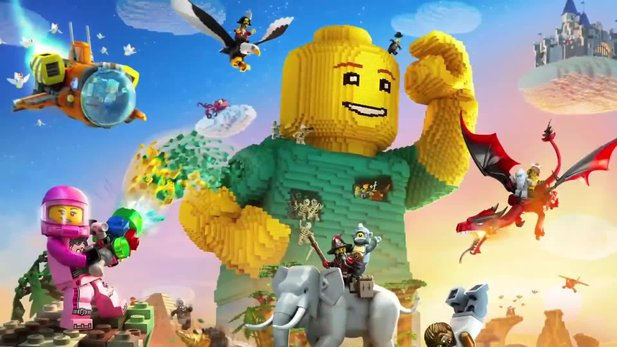 LEGO Worlds - Launch-Trailer zum LEGO-Minecraft