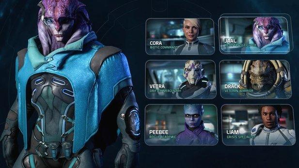 Mass Effect: Andromeda - Gameplay-Video zeigt Zusammenspiel von Fähigkeiten und Charakteren im Kampf