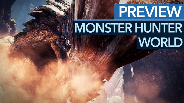 "Monster Hunter World - Video: Neues Gebiet ""Wildturm-Ödnis"" mit neuen Monstern erkundet"