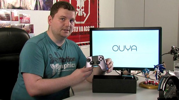 Unboxing-Video der Ouya-Konsole