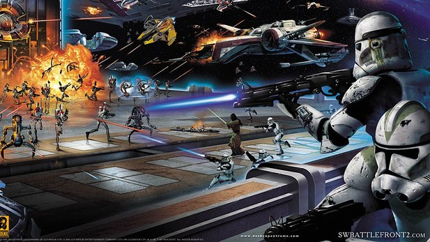 Star Wars: Battlefront 2 erschien am 1. November 2005.