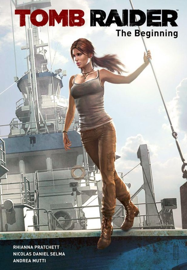 Der offizielle Comic Tomb Raider: The Beginning.