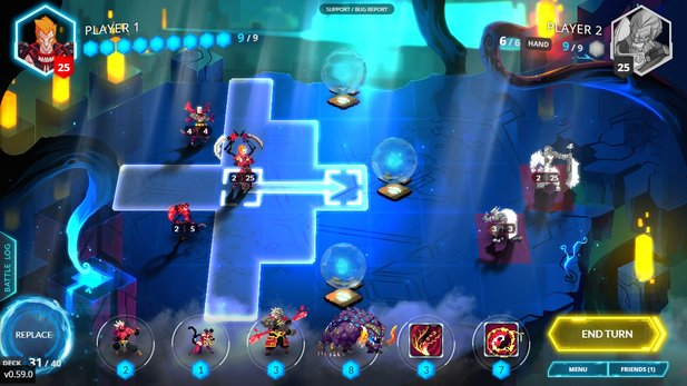 Was ist … Duelyst? - Hearthstone trifft Final Fantasy Tactics