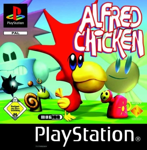 Cover zu Alfred Chicken