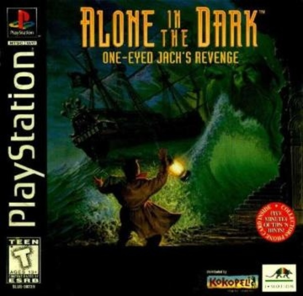Cover zu Alone in the Dark: One-Eyed Jack's Revenge