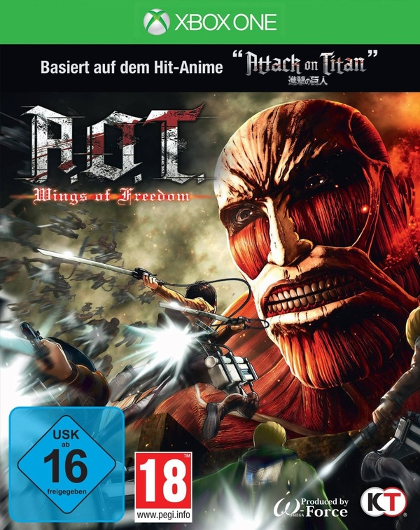Cover zu A.O.T.: Wings of Freedom
