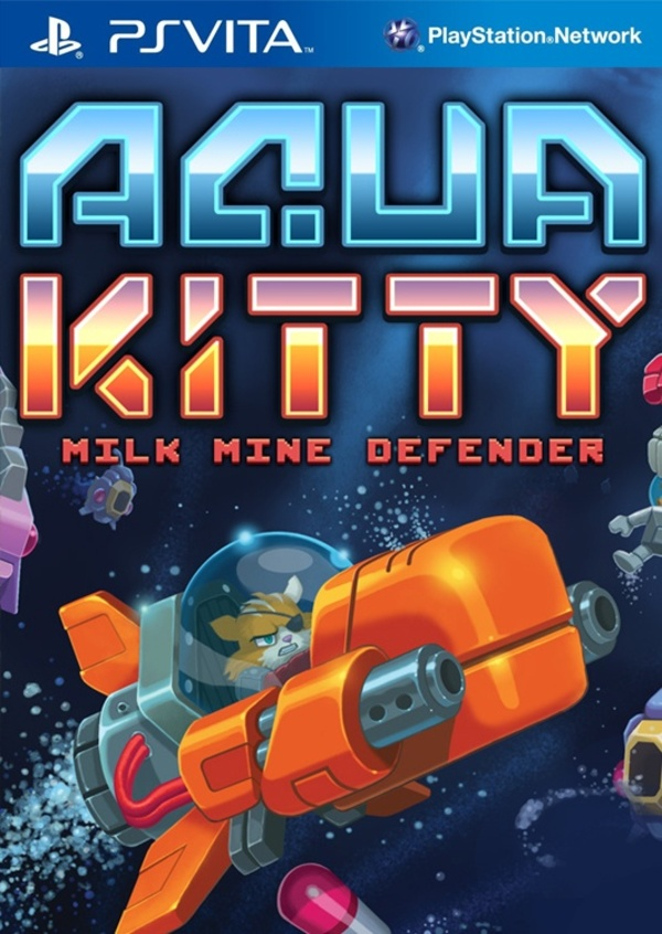 Cover zu Aqua Kitty: Milk Mine Defender