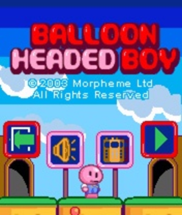 Cover zu Balloon Headed Boy