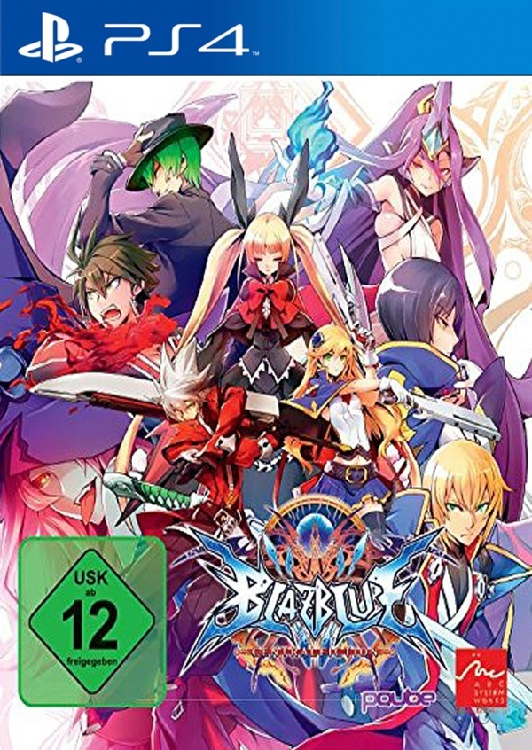 Cover zu BlazBlue: Central Fiction