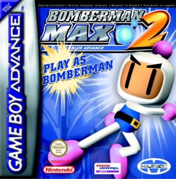 Cover zu Bomberman Max 2: Blue Advance