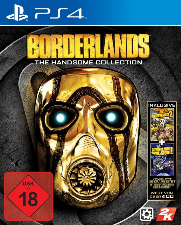 Cover zu Borderlands: The Handsome Collection