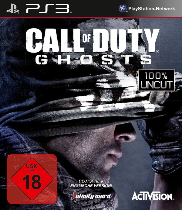 Cover zu Call of Duty: Ghosts