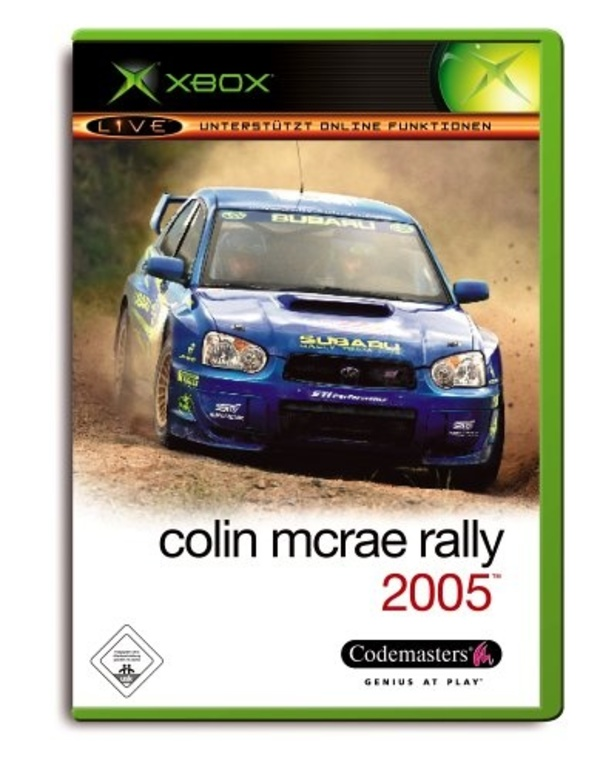 Cover zu Colin McRae Rally 2005