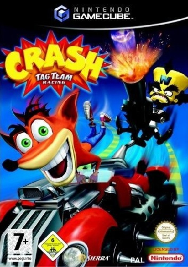 Cover zu Crash Tag Team Racing