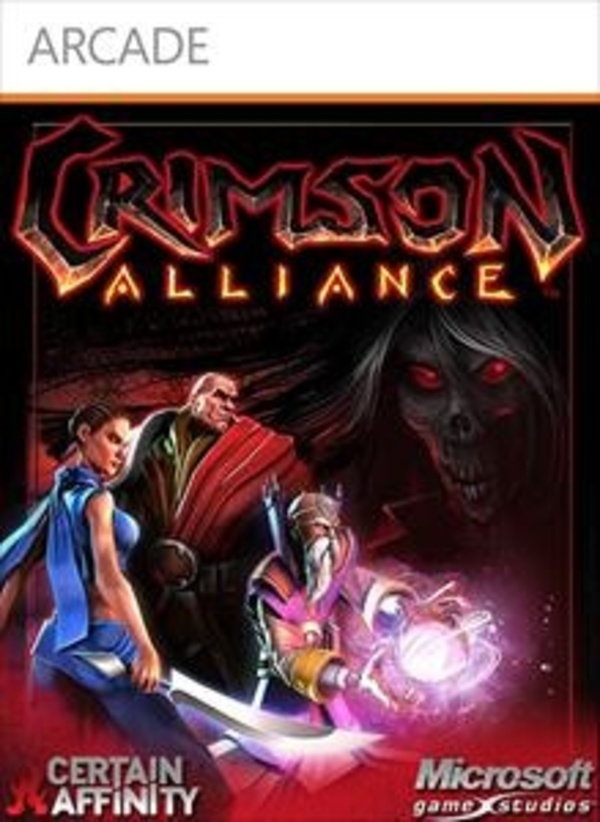 Cover zu Crimson Alliance