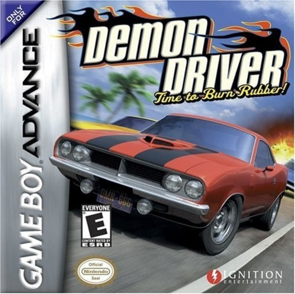 Cover zu Demon Driver: Time to Burn Rubber!
