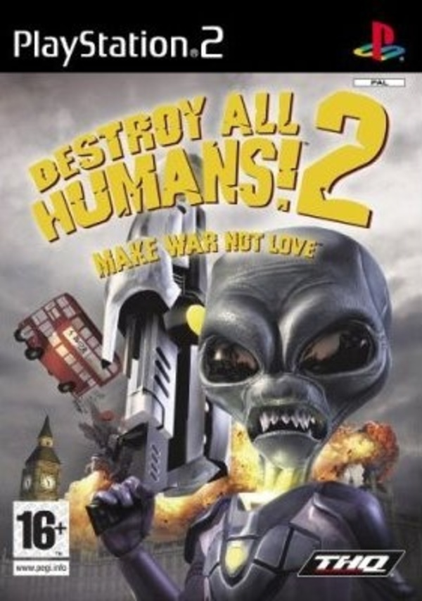 Cover zu Destroy All Humans! 2