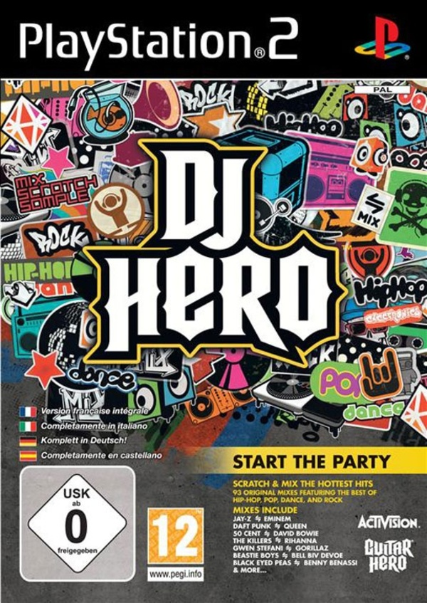 Cover zu DJ Hero