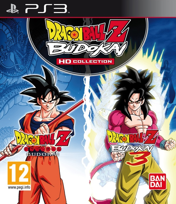 Cover zu Dragon Ball Z Budokai HD Collection