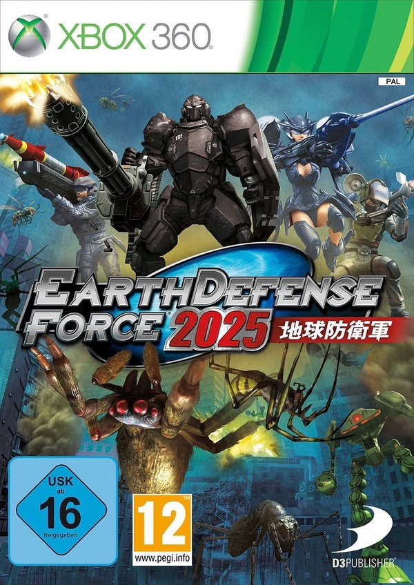Cover zu Earth Defense Force 2025