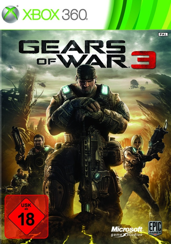 Cover zu Gears of War 3