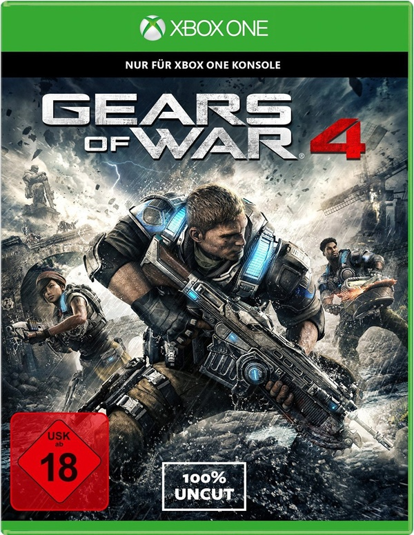 Cover zu Gears of War 4
