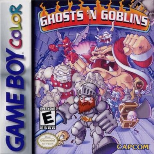 Cover zu Ghosts 'N Goblins