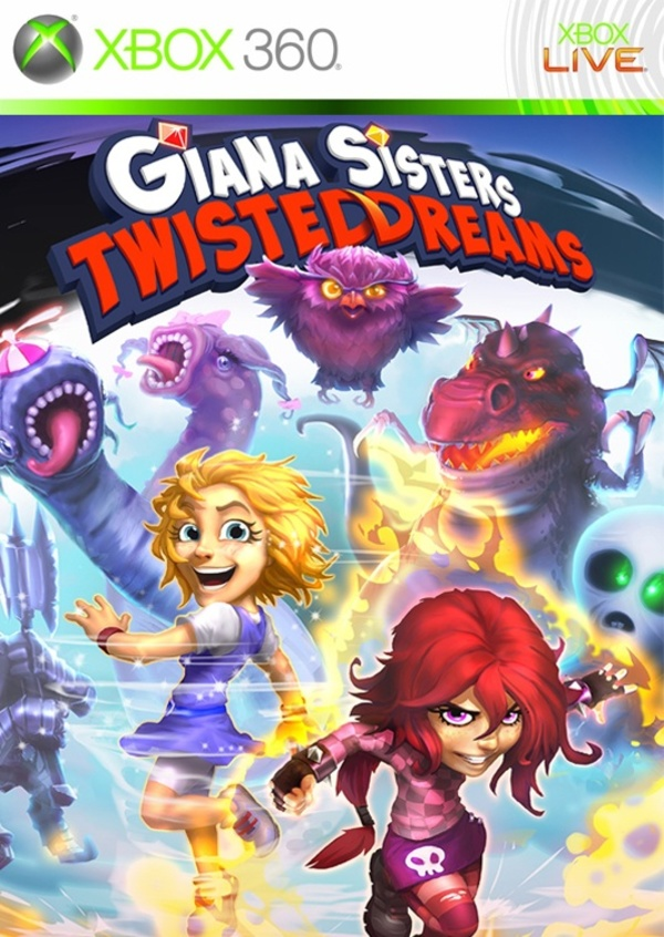 Cover zu Giana Sisters: Twisted Dreams